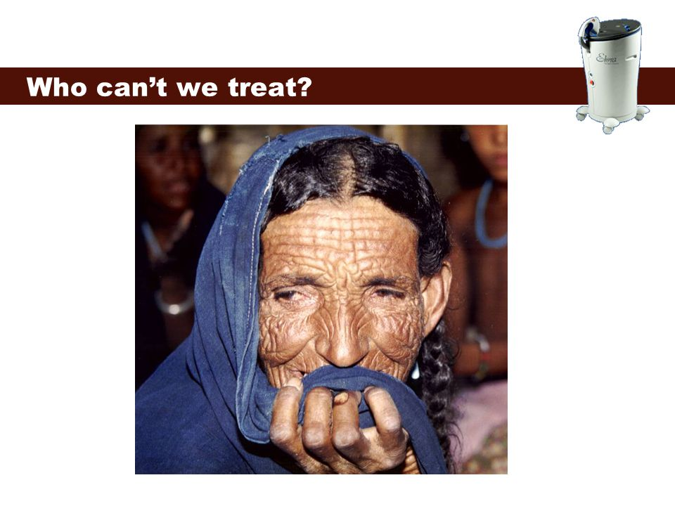 Who can't we treat
