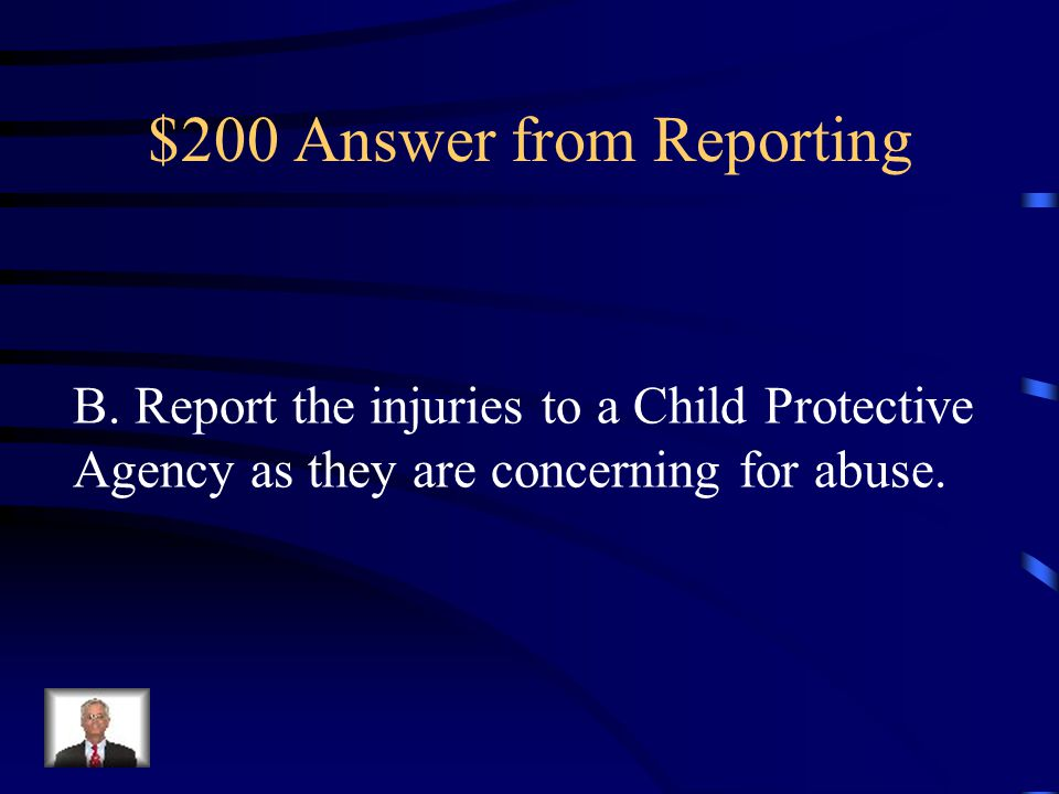 $200 Answer from Reporting