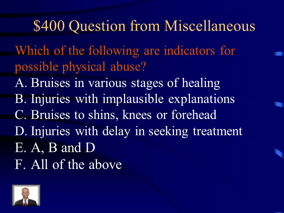 $400 Question from Miscellaneous