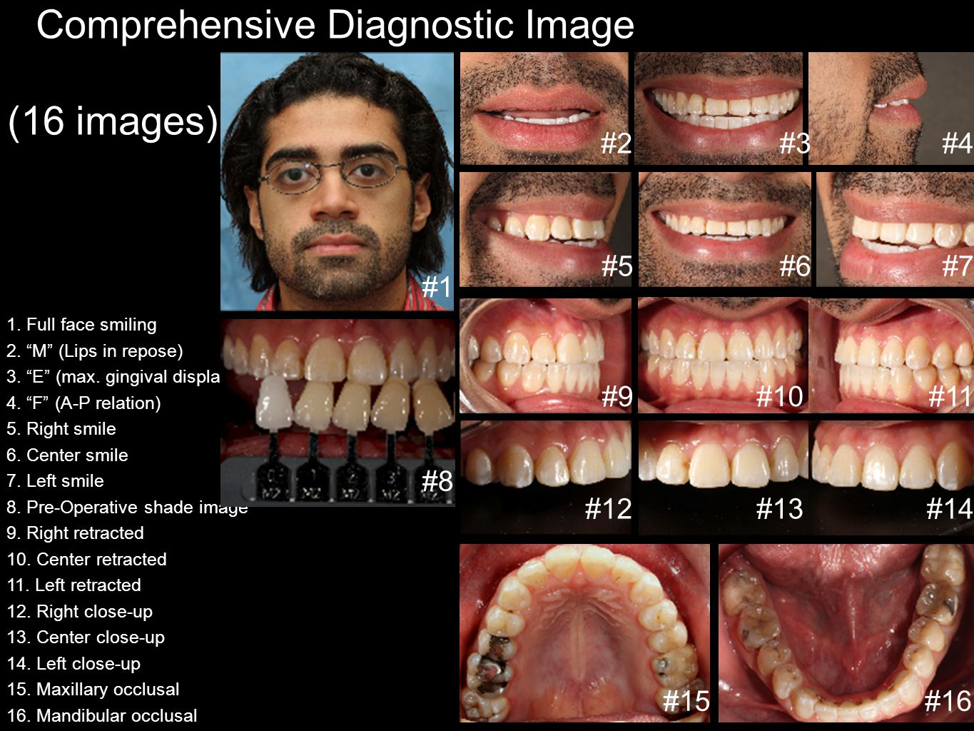 Comprehensive Diagnostic Image Series