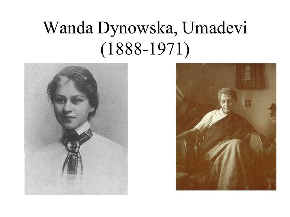Wanda Dynowska, Umadevi (1888-1971)
