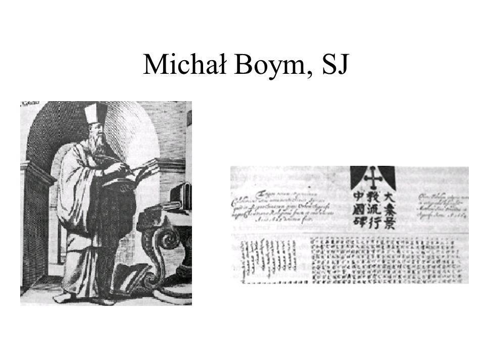 Michał Boym, SJ