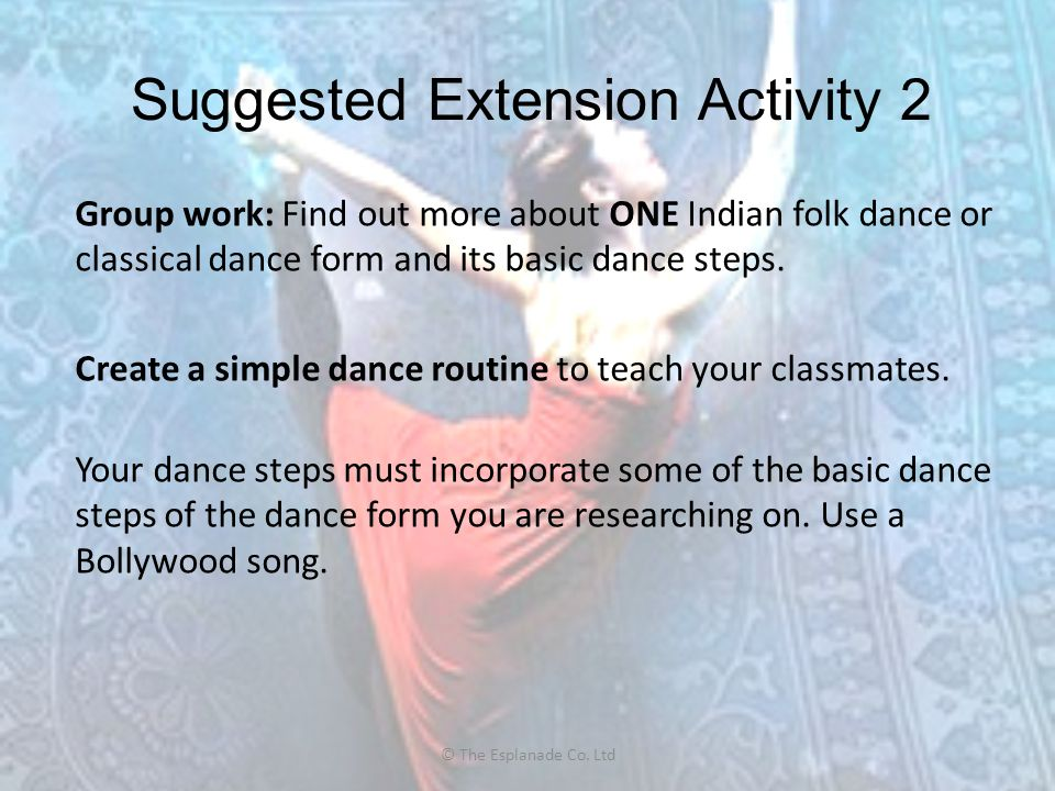 Suggested Extension Activity 2
