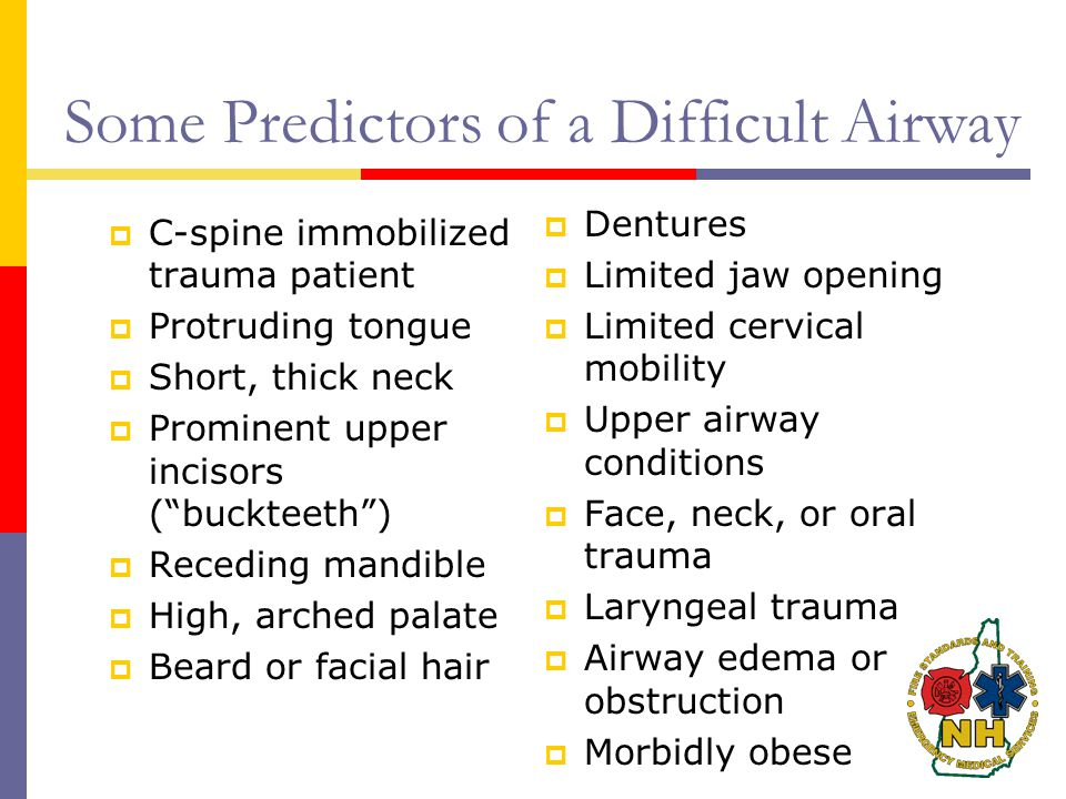 Some Predictors of a Difficult Airway
