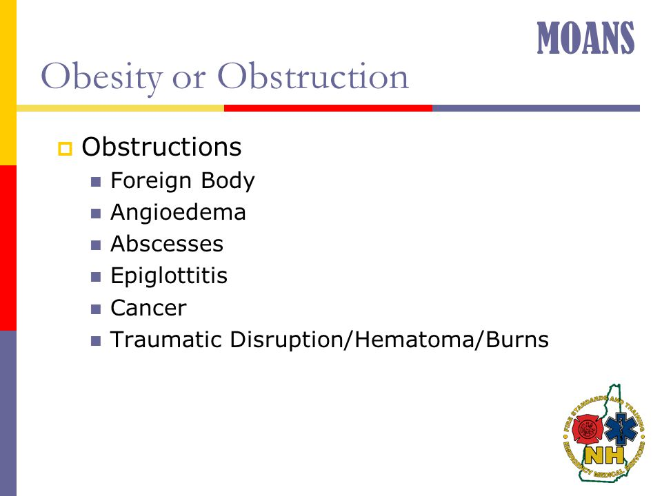 Obesity or Obstruction