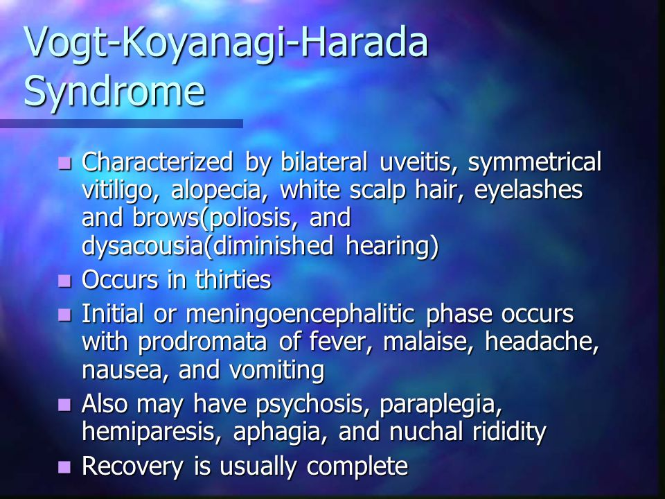 Vogt-Koyanagi-Harada Syndrome