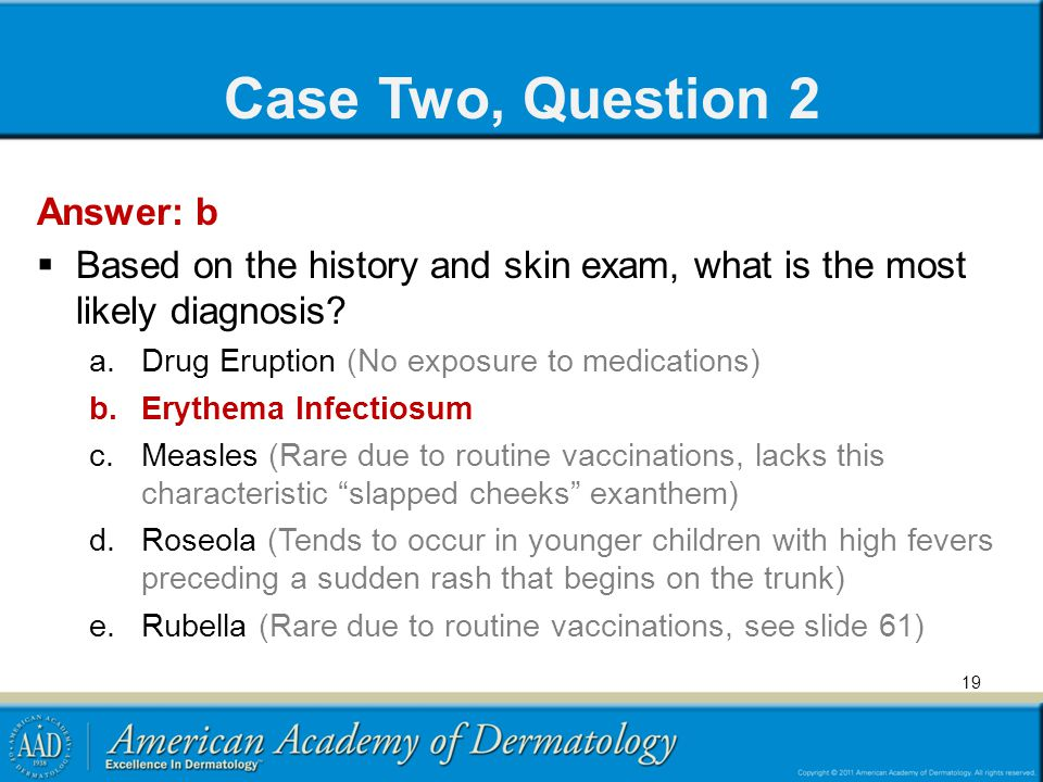 Case Two, Question 2 Answer: b