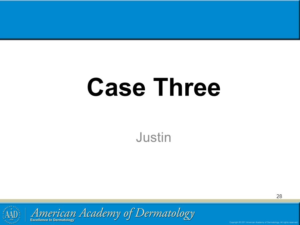 Case Three Justin