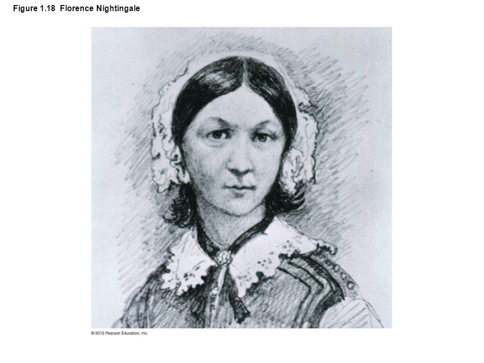 Figure 1.18 Florence Nightingale