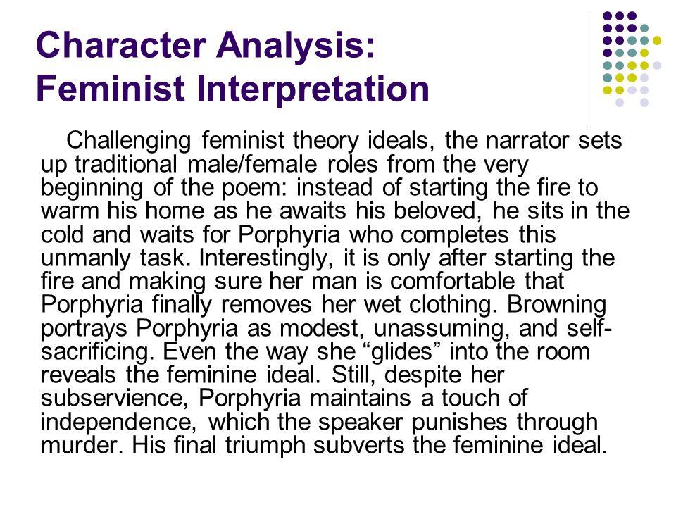 Character Analysis: Feminist Interpretation