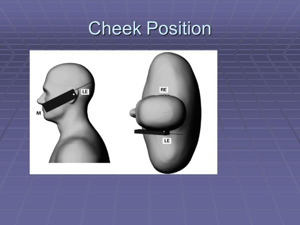 Cheek Position