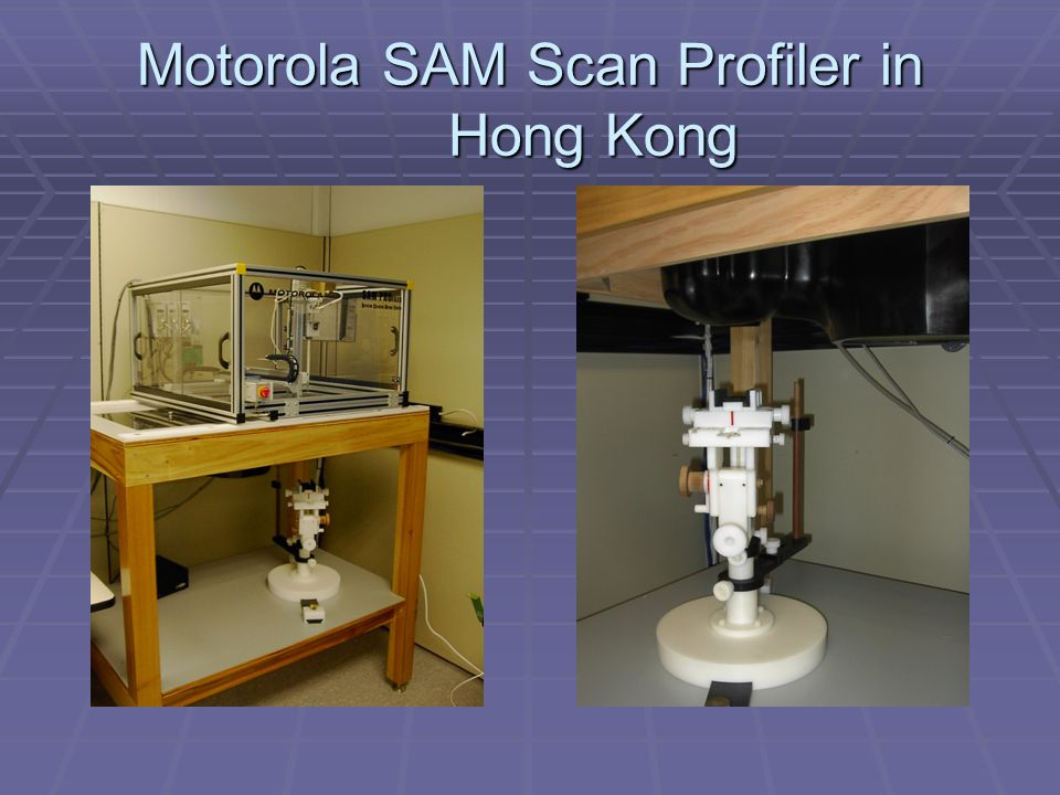 Motorola SAM Scan Profiler in Hong Kong