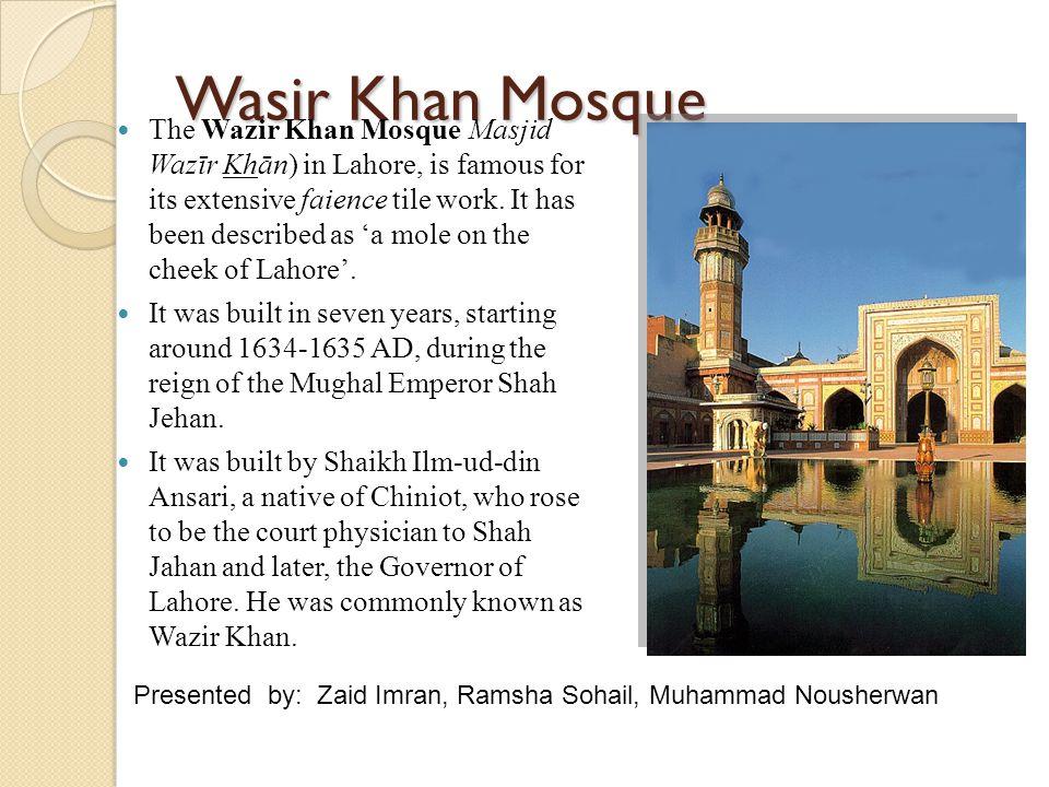 Wasir Khan Mosque