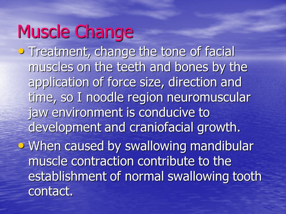 Muscle Change