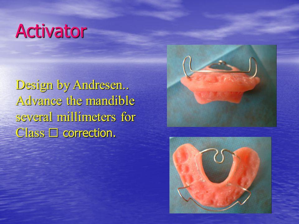 Activator Design by Andresen..