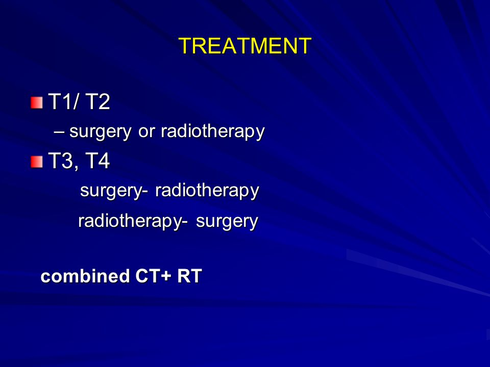 radiotherapy- surgery
