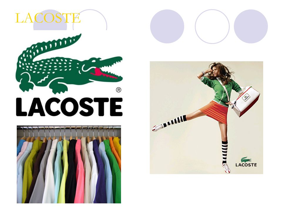 Lacoste Marketing Mix