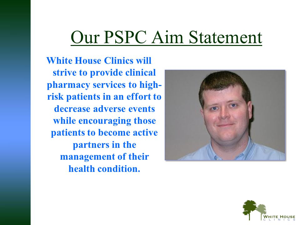 Our PSPC Aim Statement