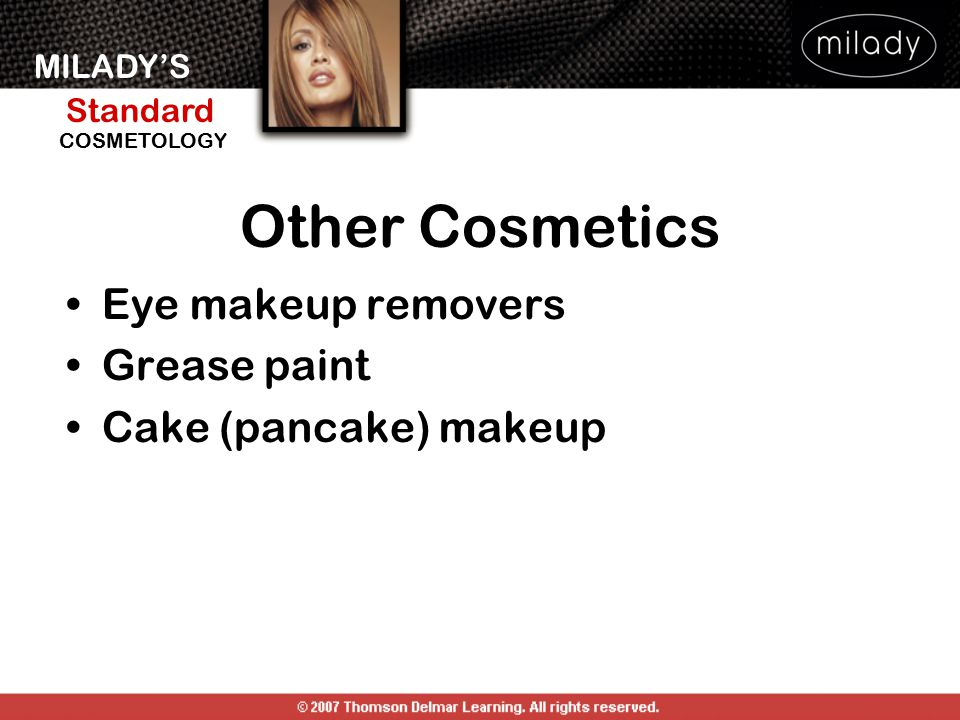 Other Cosmetics Eye makeup removers Grease paint Cake (pancake) makeup