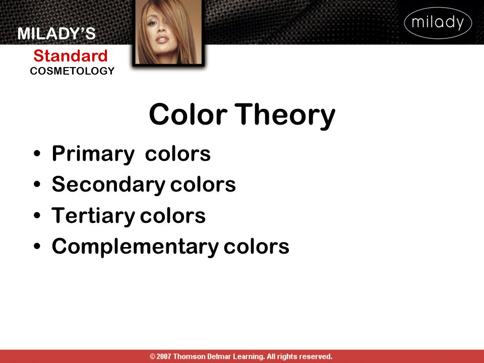 Color Theory Primary colors Secondary colors Tertiary colors