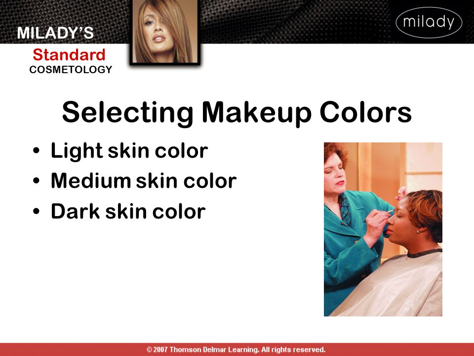 Selecting Makeup Colors