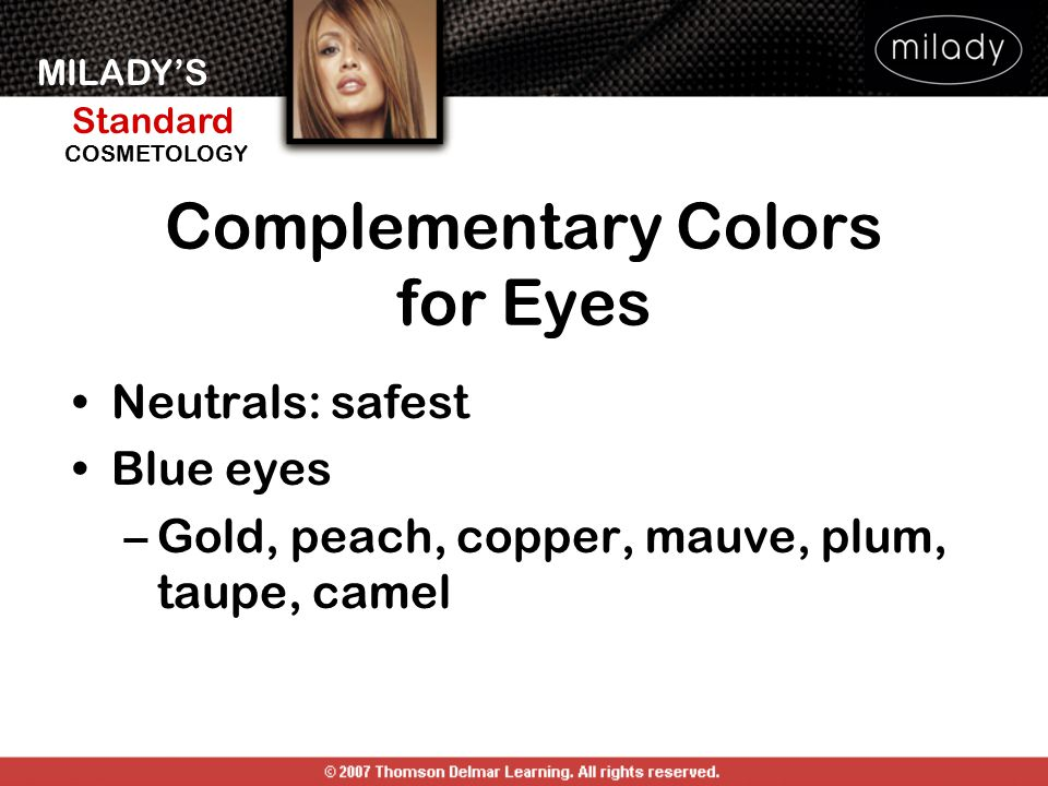 Complementary Colors for Eyes