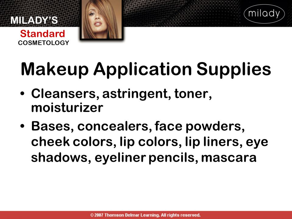 Makeup Application Supplies