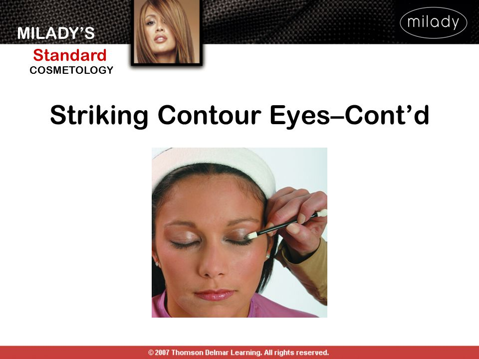 Striking Contour Eyes–Cont'd
