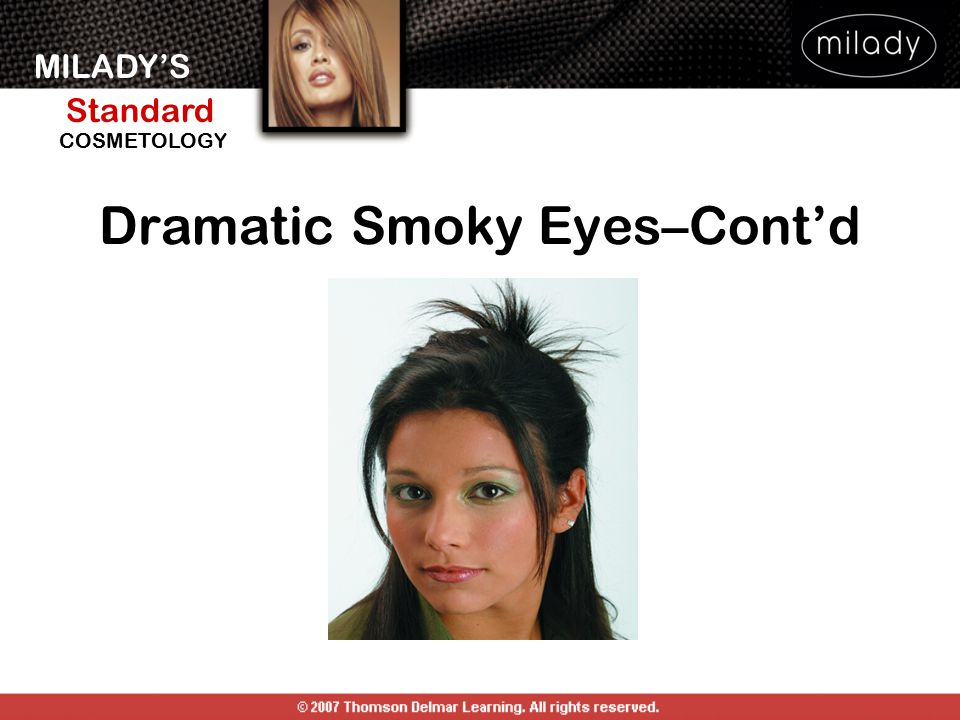 Dramatic Smoky Eyes–Cont'd