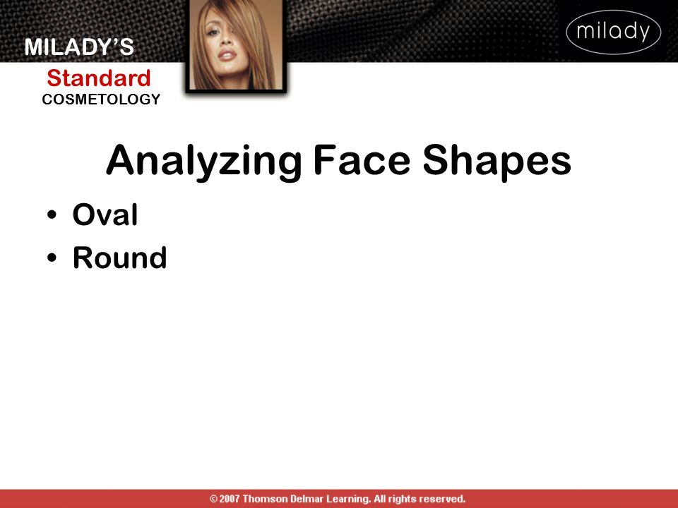 Analyzing Face Shapes Oval Round ANALYZING FEATURES AND FACE SHAPE