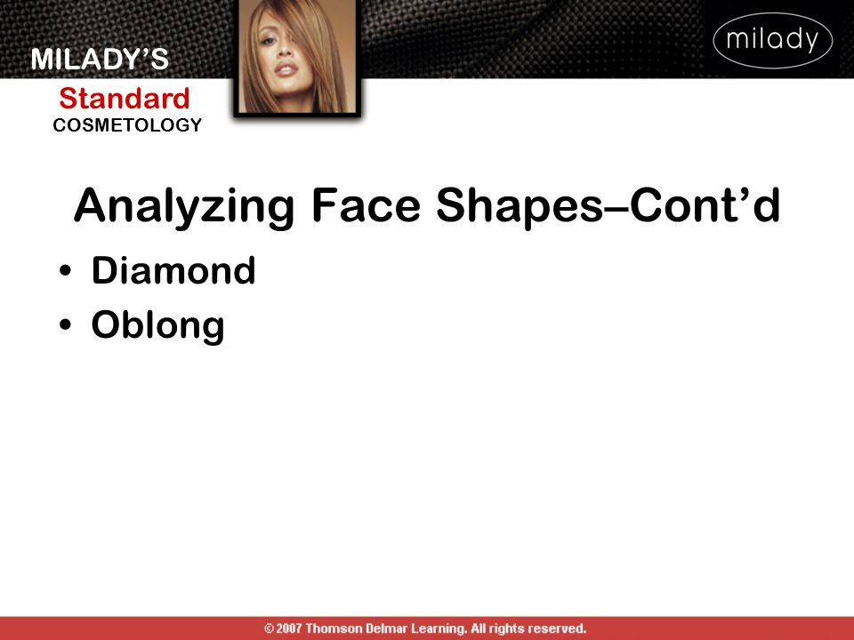 Analyzing Face Shapes–Cont'd