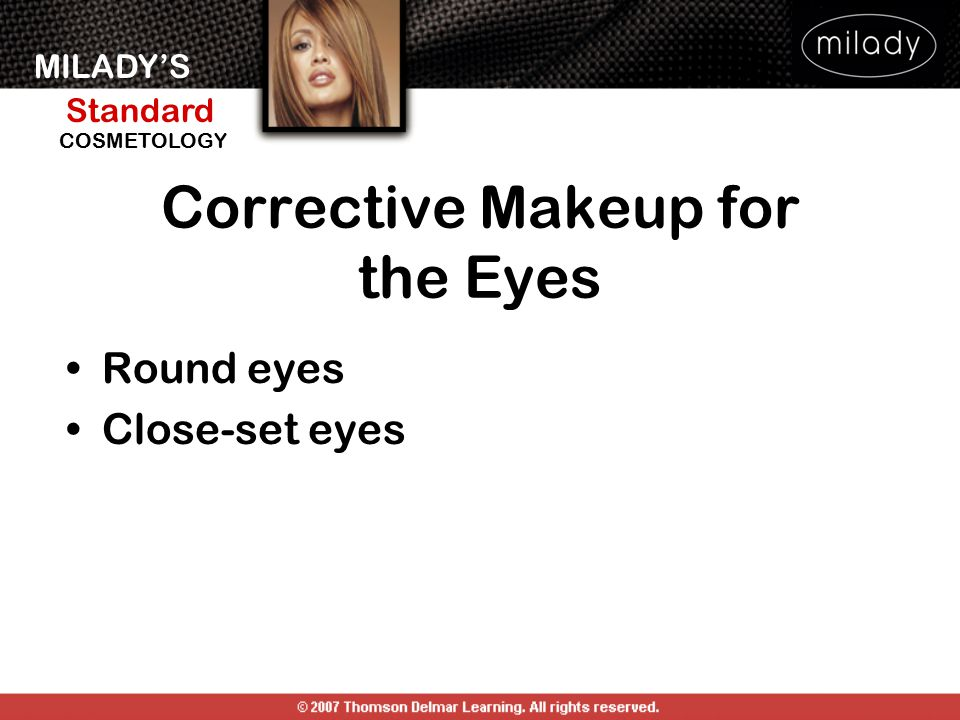 Corrective Makeup for the Eyes