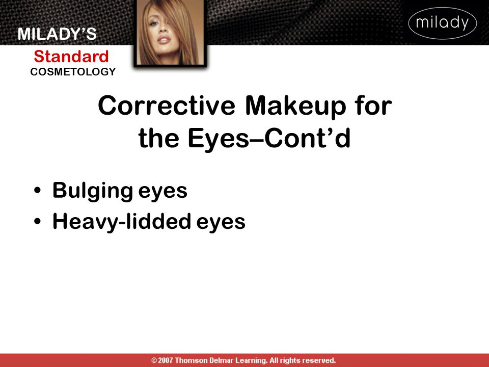 Corrective Makeup for the Eyes–Cont'd