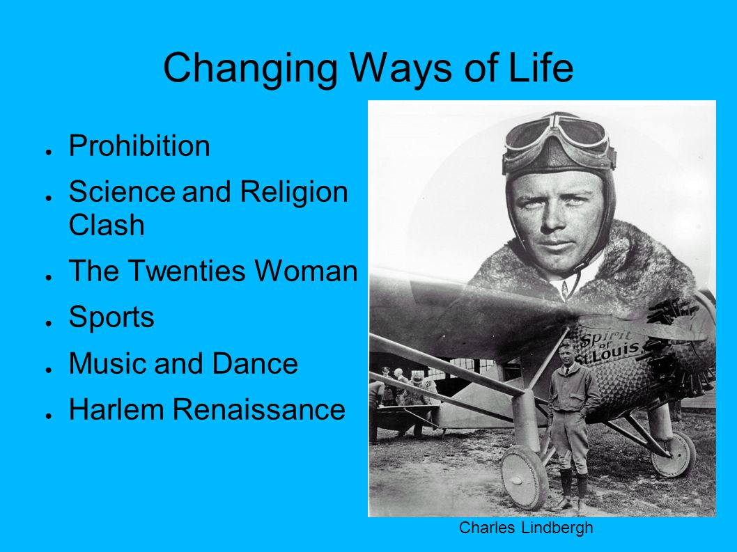Changing Ways of Life Prohibition Science and Religion Clash