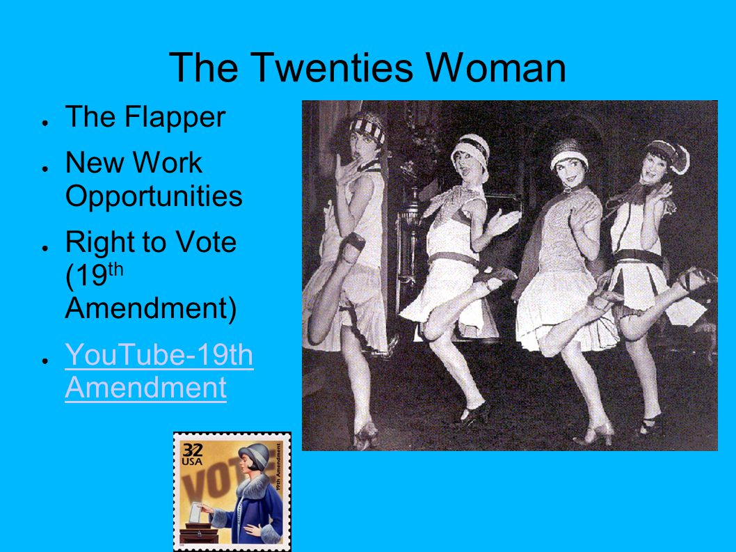 The Twenties Woman The Flapper New Work Opportunities