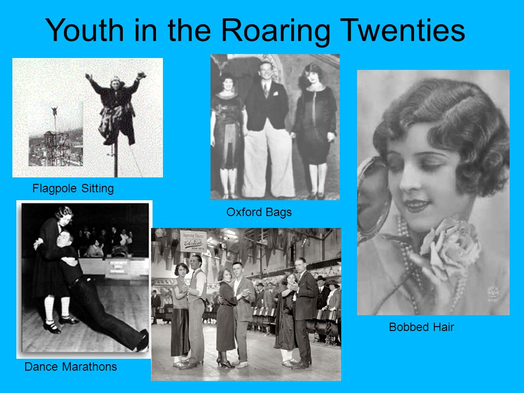 Youth in the Roaring Twenties