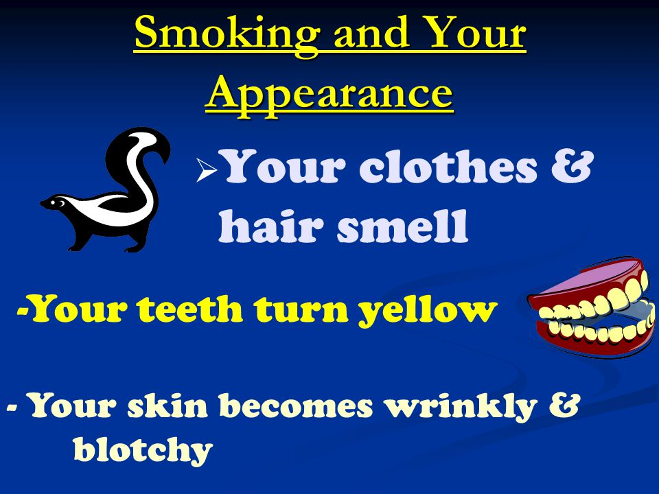 Smoking and Your Appearance