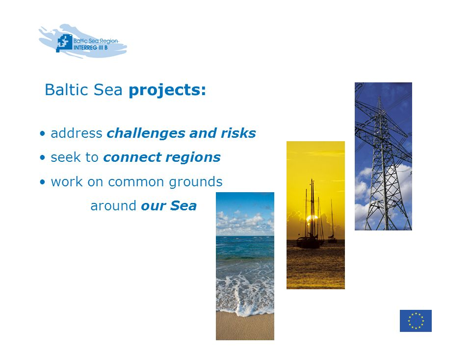 Baltic Sea projects: address challenges and risks