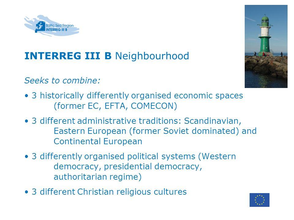 INTERREG III B Neighbourhood