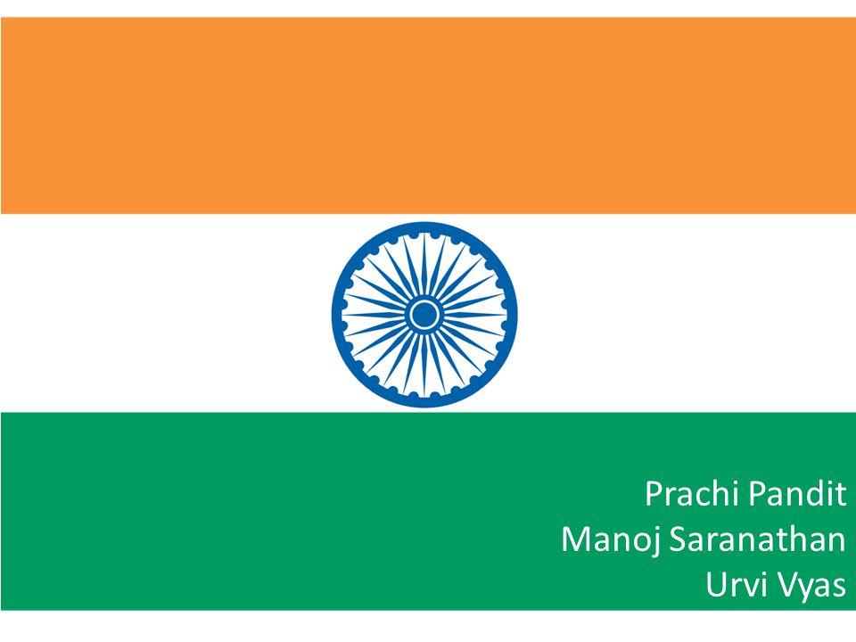 Prachi Pandit Manoj Saranathan Urvi Vyas