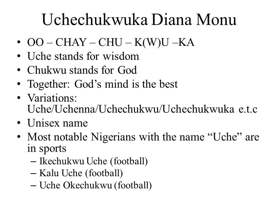 Uchechukwuka Diana Monu