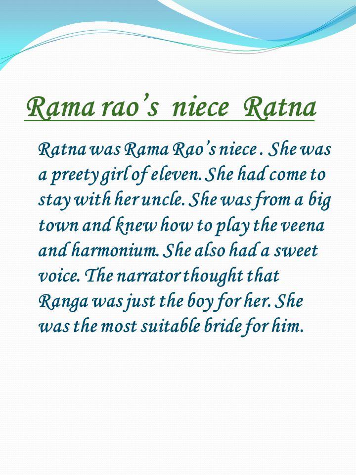 Rama rao's niece Ratna