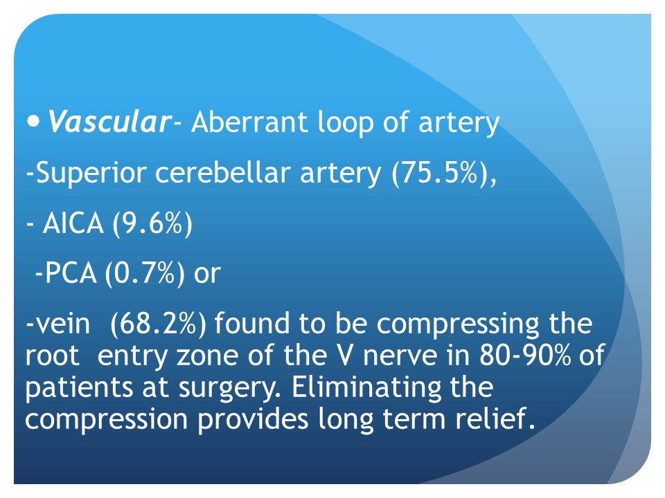 Vascular- Aberrant loop of artery