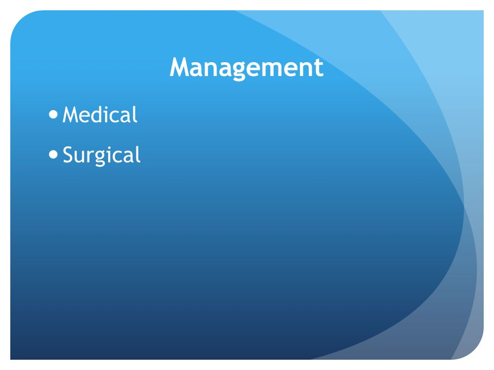 Management Medical Surgical
