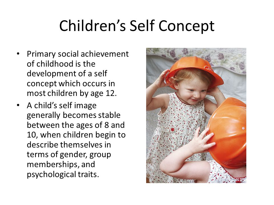 Children's Self Concept