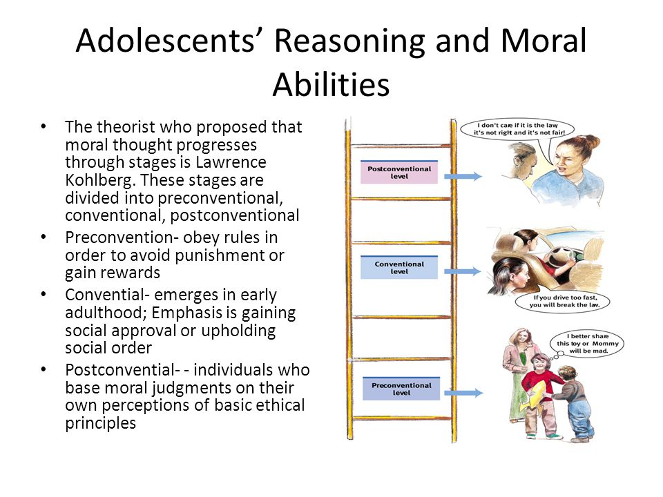 Adolescents' Reasoning and Moral Abilities