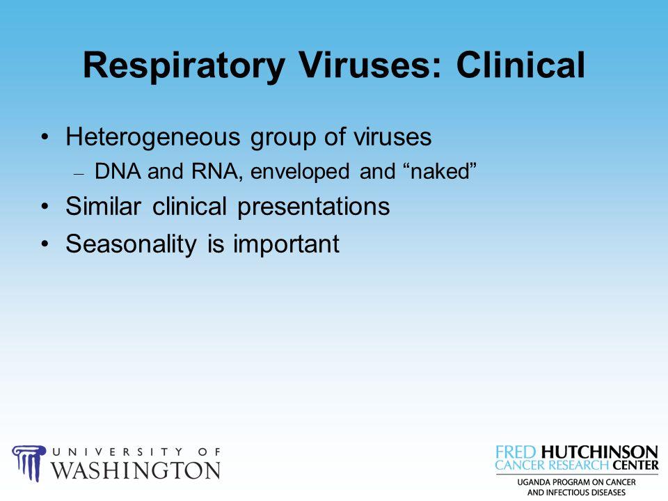 Respiratory Viruses: Clinical