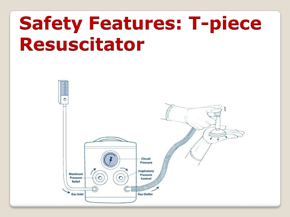 Safety Features: T-piece Resuscitator
