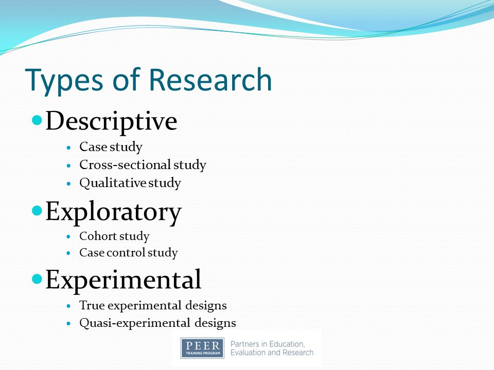 types of exploratory research Compare types exploratory research how to stretch the psoas muscle treating a strained hamstring and doctors are presented these.