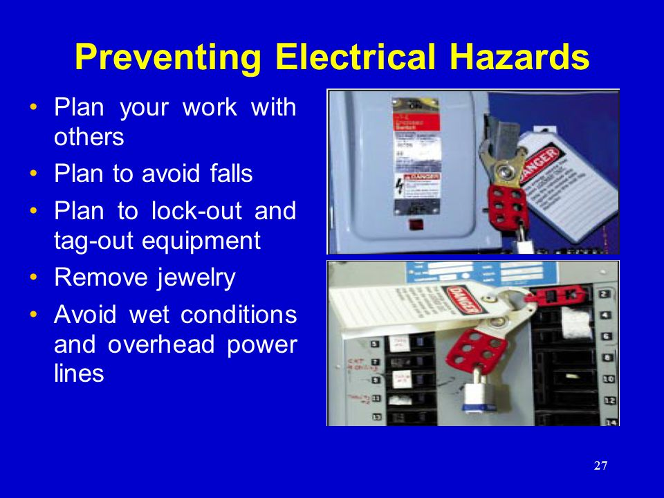 Preventing Electrical Hazards